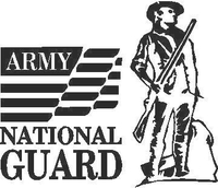 Army National Guard Decal / Sticker