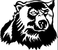 CUSTOM BEAR MASCOT DECALS AND BEAR MASCOT STICKERS