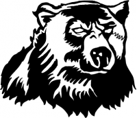 CUSTOM BEAR MASCOT DECALS AND BEAR MASCOT STICKERS