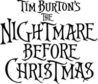 The Nightmare Before Christmas Decal / Sticker 01