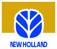 New Holland Agriculture Decal / Sticker 09