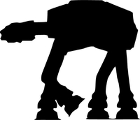 Star Wars AT-AT Decal / Sticker 05