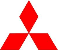 Mitsubishi Diamond Decal / Sticker