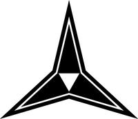 III Corps Decal / Sticker 02