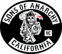 Sons of Anarchy Decal / Sticker 02