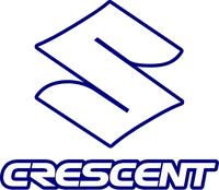 Crescent Suzuki Decal / Sticker 03