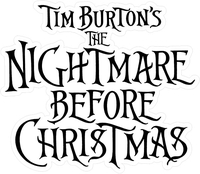 The Nightmare Before Christmas Decal / Sticker 02