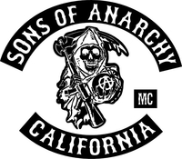 Sons of Anarchy Decal / Sticker 03