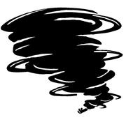 Storm Mascot Decal / Sticker 7