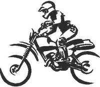 Dirtbike Decal / Sticker 03