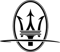 Maserati Decal / Sticker 11