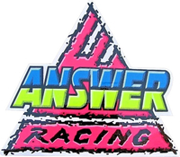 ANSWER RACING DECALS and STICKERS