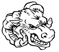 Rams Mascot Decal / Sticker 6