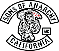 Sons of Anarchy Decal / Sticker 01