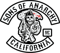 CUSTOM SONS OF ANARCHY DECAL and STICKERS