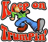 Keep On Trumpin' Decal / Sticker 01