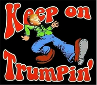 Keep On Trumpin' Decal / Sticker 02