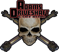 Adams Driveshaft Decal / Sticker 03