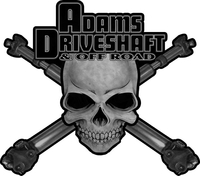 Adams Driveshaft Grayscale Decal / Sticker 04