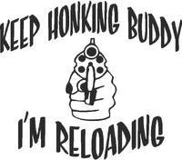 Keep Honking 01 Decal / Sticker