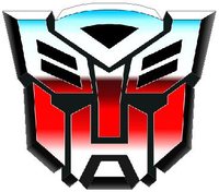 Transformers Autobot 09 Decal / Sticker