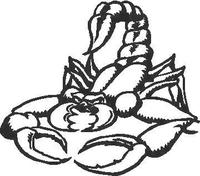 Scorpion  Decal / Sticker