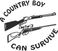 A Country Boy Can Survive Decal / Sticker