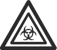 Biohazard Decal / Sticker 03