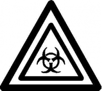CUSTOM BIO-HAZARD DECALS and BIOHAZARD STICKERS