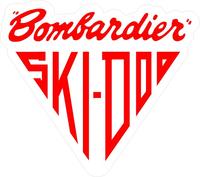 Bombardier Ski-Doo Decal / Sticker 09