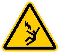 Electrocution Hazard Sign Decal / Sticker 01