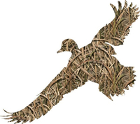 Camo Duck Hunting Hunting Decal / Sticker 24