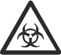 Biohazard Decal / Sticker 05