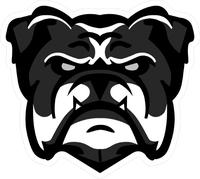 Bulldog Decal / Sticker 19
