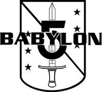 Babylon 5 Decal / Sticker 09