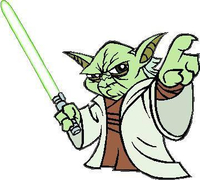 Yoda Decal / Sticker 02