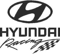 Hyundai Racing Decal / Sticker 01