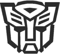 Transformers Autobot 10 Decal / Sticker