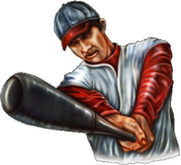 Baseball Player 05 Decal / Sticker