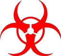 Biohazard Decal / Sticker