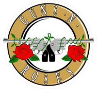 Guns N' Roses Decal / Sticker 05
