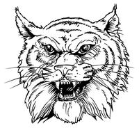 Wildcats Mascot Decal / Sticker 2