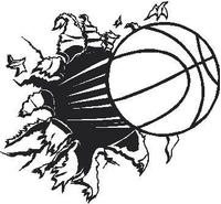 Basketball Hole Decal / Sticker