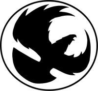 Eagles Mascot Decal / Sticker