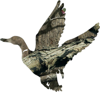 Camo Duck Hunting Hunting Decal / Sticker 19