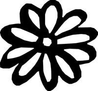 Flower Decal / Sticker 04