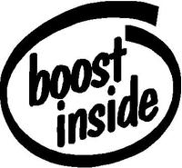 Boost Inside Decal / Sticker