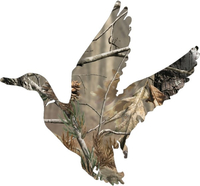 Camo Duck Hunting Hunting Decal / Sticker 20