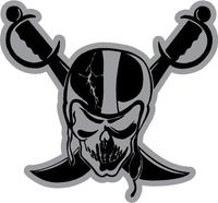 Raider Nation Decal / Sticker 02
