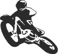 Dirtbike Decal / Sticker 01